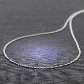 trendor 70739 Necklace For Pendants 925 Silver Curb Cain 2.1 mm