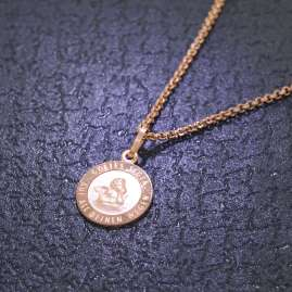trendor 79428 Kinder-Halskette mit Engel-Anhänger