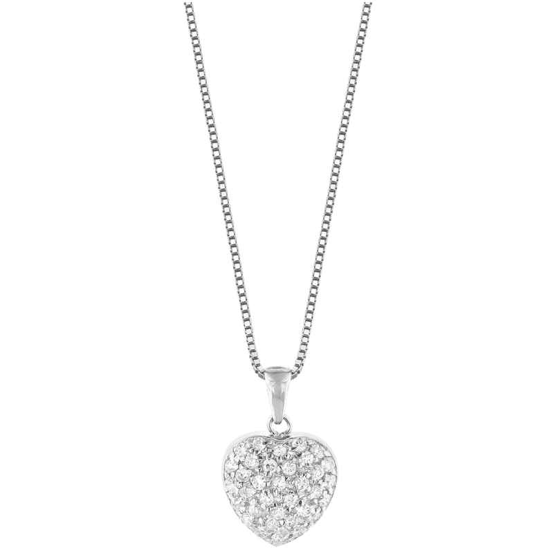 trendor 35911 Silver Chain with Heart Pendant 4260435359111
