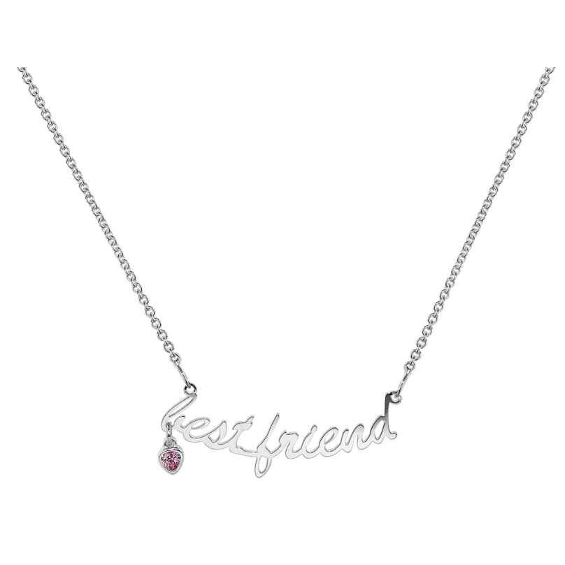 trendor 35961 Silber Damen-Halskette Best Friend 4260435359616
