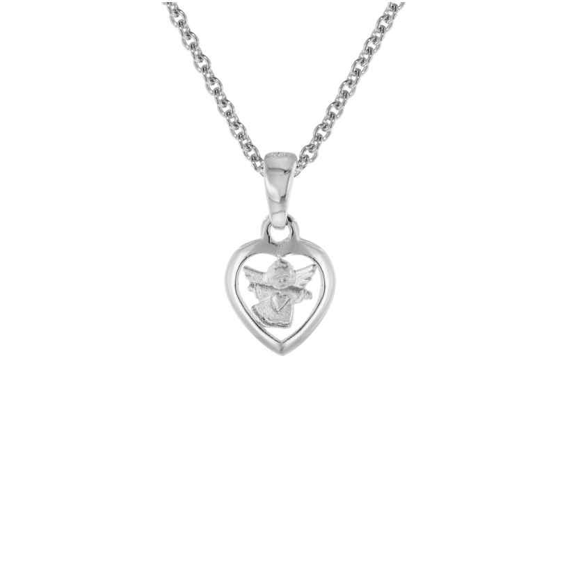trendor 08304 Silber Kinder-Halskette mit Anhänger 4260497083047
