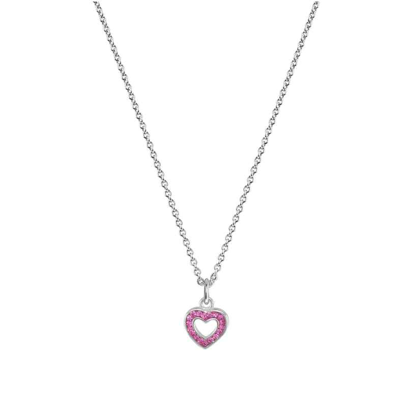 trendor 08345 Halskette mit Herz-Anhänger für Kinder 925 Sterlingsilber 4260497083450