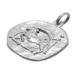 trendor 08441 Silver Zodiac Capricorn with Necklace
