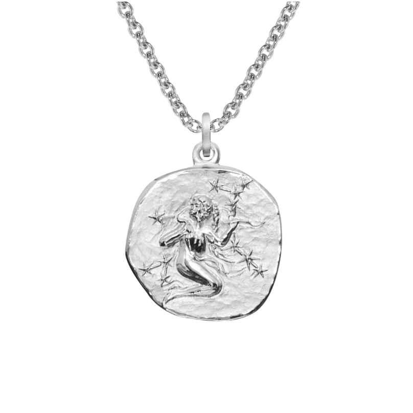 trendor 08449 Sternzeichen Jungfrau mit Halskette Silber 925