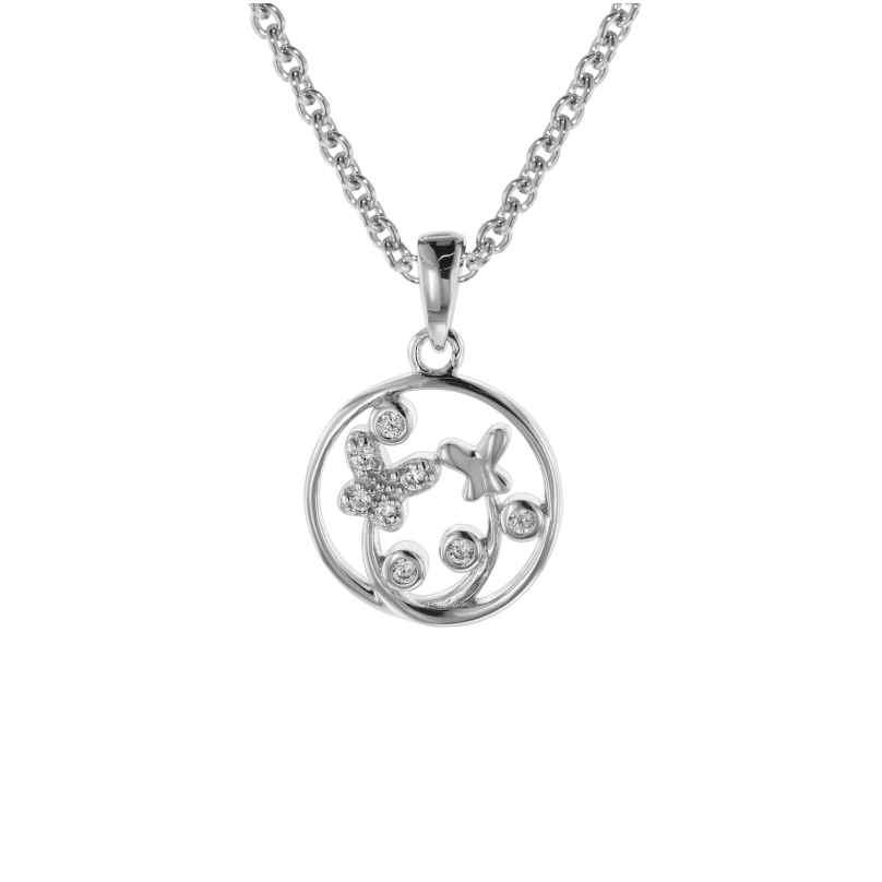 trendor 08810 Halskette für Mädchen mit Anhänger Silber 925 4260497088103