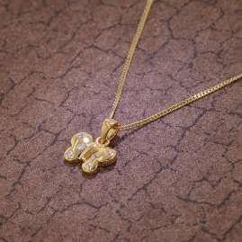 trendor 75110 Schmetterling Schmuckset für Kinder Gold 333 (8 Karat)