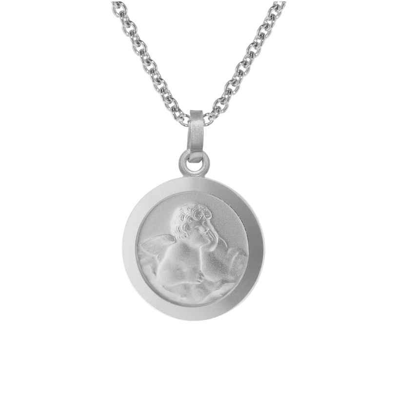 trendor 75111 Engel-Anhänger mit Halskette für Kinder Silber 925 4260641751112