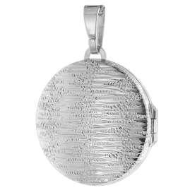 trendor 75758 Medaillon mit Damen-Halskette Silber 925