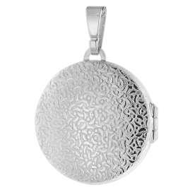 trendor 75762 Damen-Halskette mit Medaillon Silber 925