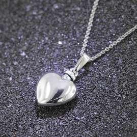 trendor 39746 Urne Anhänger mit Halskette 925 Silber