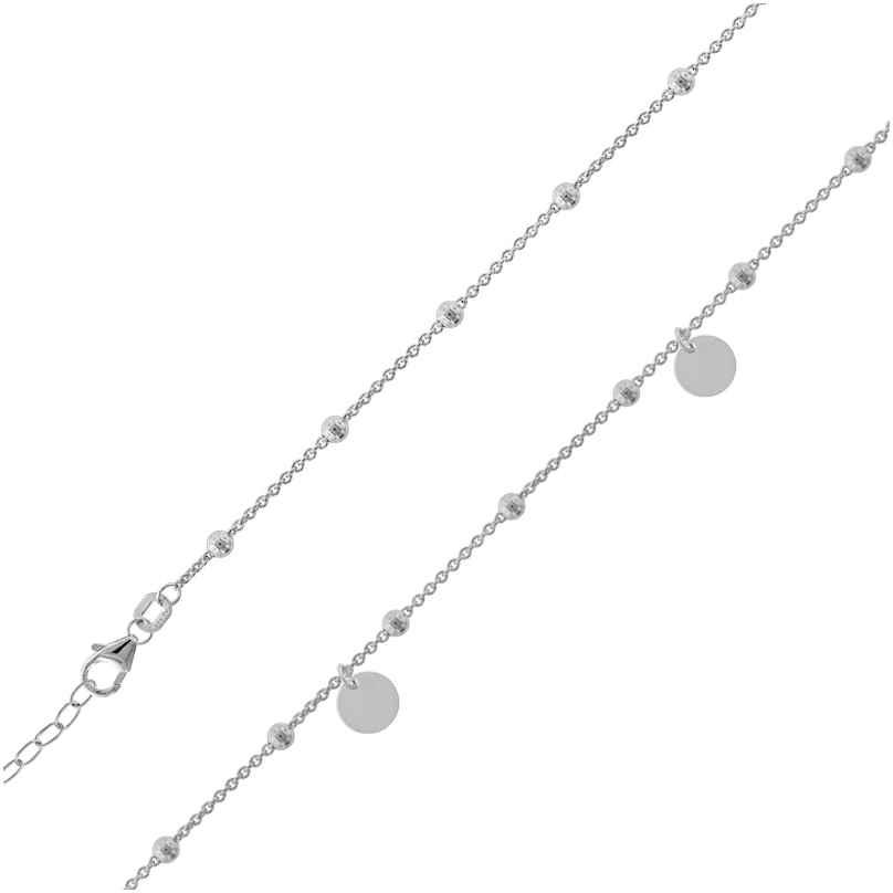 trendor 39744 Damen-Halskette Shorty 925 Silber 4260684397445