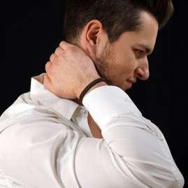 trendor 81668 Men's Bracelet Brown with Magnetic Closure
