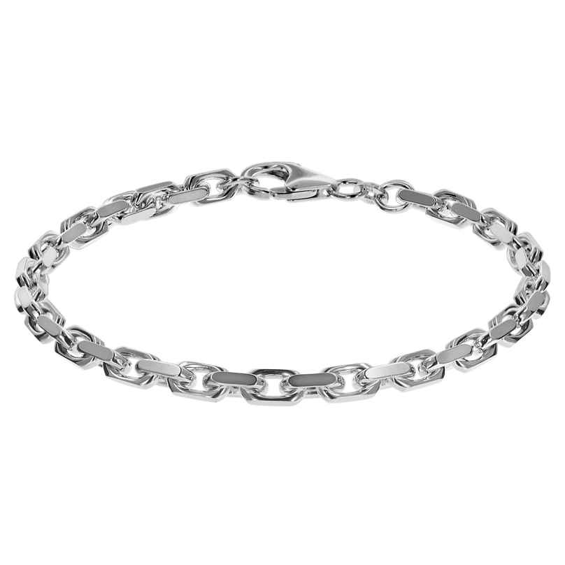 trendor 08633 Armband für Männer 925 Sterlingsilber Anker 21 cm 4260497086338