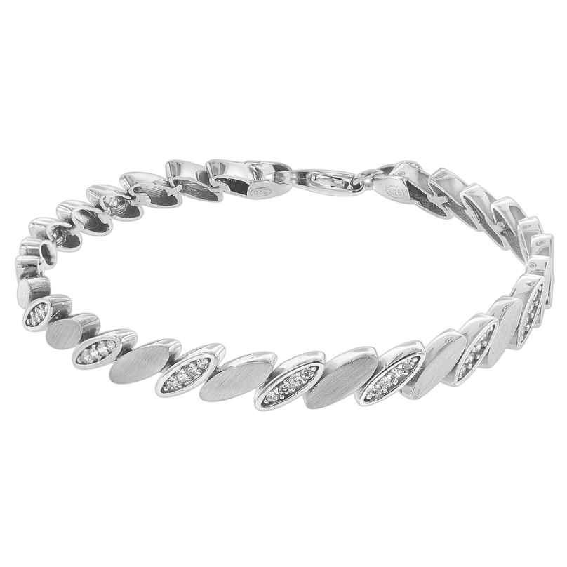 trendor 75587 Armband für Damen Silber 925 Zirkonia 4260641755875