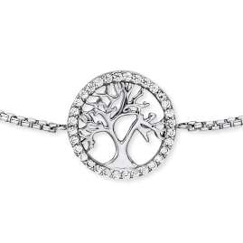 Engelsrufer ERB-LILTREE-ZI Ladies' Bracelet Silver Tree of Life