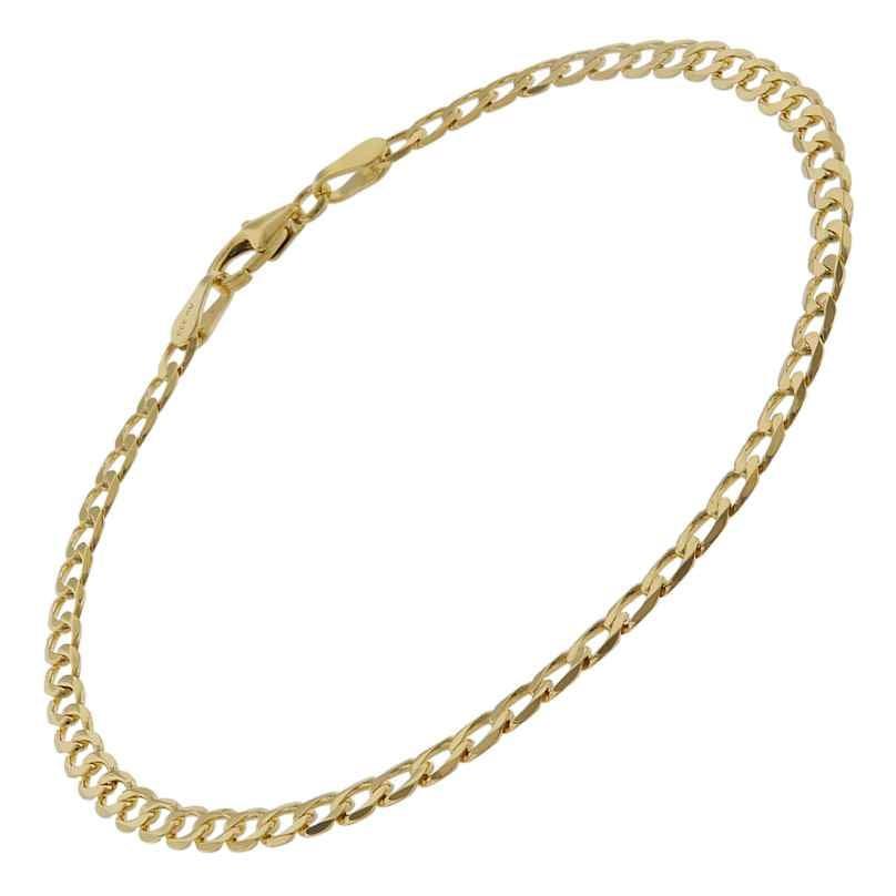 trendor 75652 Panzer-Armband für Damen Gold 333 (8 Karat) 19 cm 4260641756520