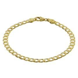 trendor 75653 Ladies' Bracelet Curb Chain Gold 333 (8 Carat) Width 5 mm