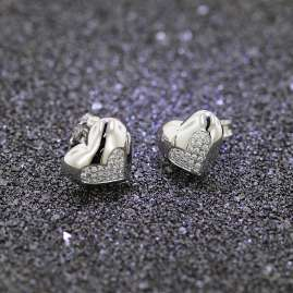 trendor 65014 Silver Earrings