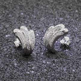 trendor 65113 Silver Earrings