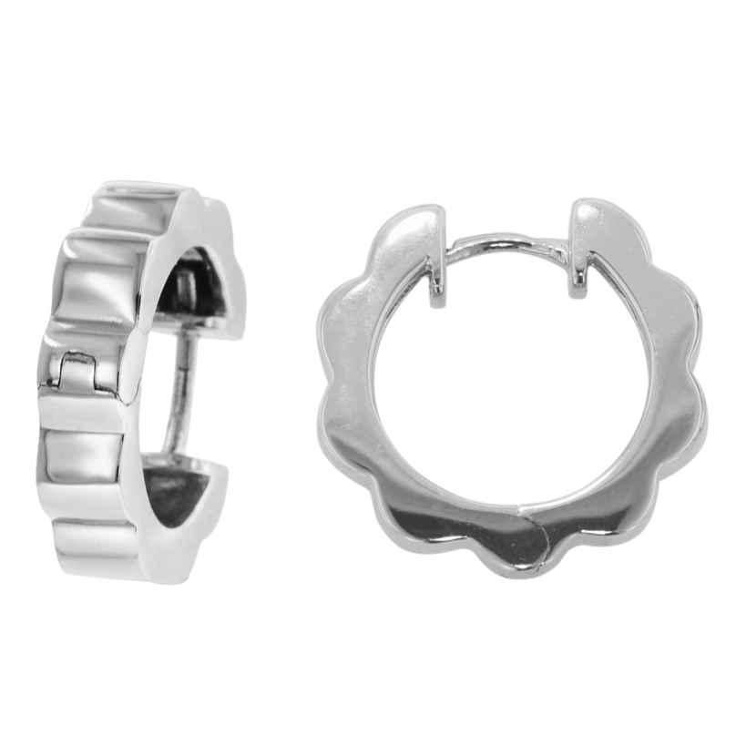 trendor 80098 Damen-Ohrringe Creolen aus Silber 4260266580098