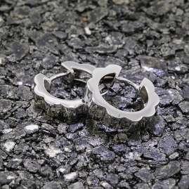 trendor 80098 Damen-Ohrringe Creolen aus Silber