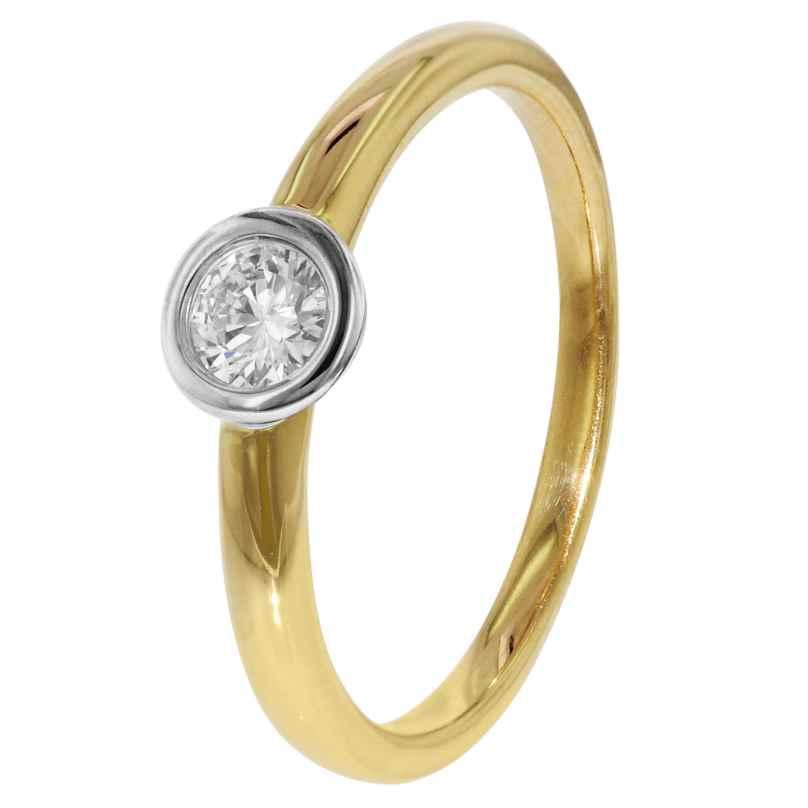 trendor 35261 Diamant Goldring