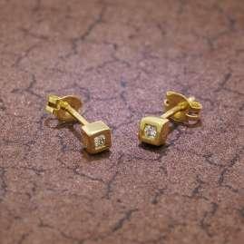 trendor 35758 Ohrringe mit Zirkonia Gold 333 / 8 Karat