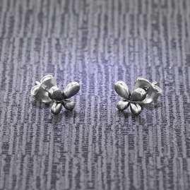trendor 08769 Ohrringe Silber 925 Ohrstecker Schmetterling
