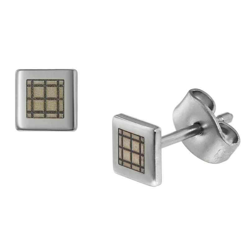 trendor 75001 Men's Earrings Stainless Steel 4260641750016
