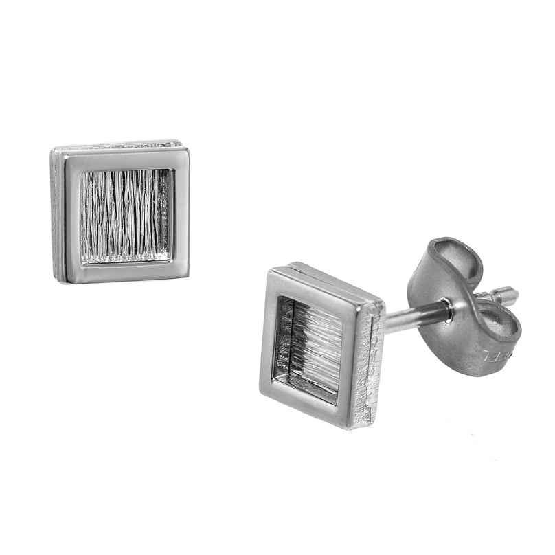 trendor 75004 Stainless Steel Men's Stud Earrings 4260641750047
