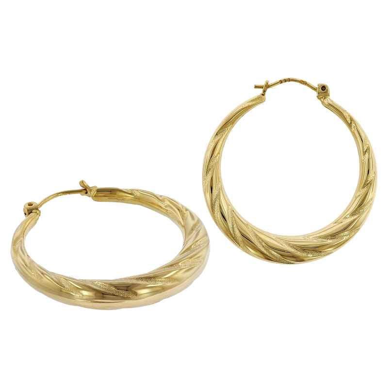 trendor 75790 Ohrringe Creolen 333 Gold 8 Karat 28 mm 4260641757909