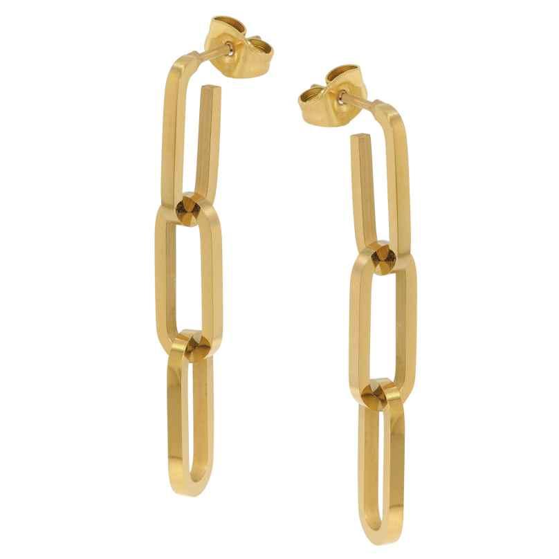 trendor 75897 Ohrringe Gold auf Edelstahl 4260641758975