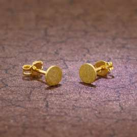 trendor 51029 Damen-Ohrringe Ohrstecker 333 / 8K Gold 5 mm