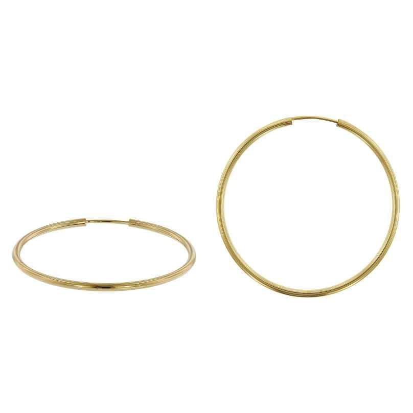 trendor 51171 Creolen Ohringe Gold 333 / 8K Ø 40 mm 4260727511715