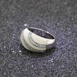 trendor 67469 Sliver Ladies Ring