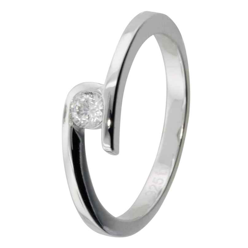 trendor 69364 Ladies Silver Ring