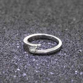 trendor 69364 Silber Damen Ring mit Zirkonia