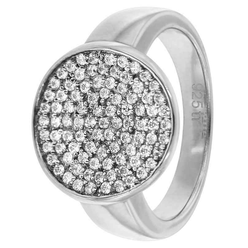 trendor 81392 Women's Silver Ring with Cubic Zirconia
