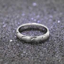 trendor 65250 Silver Women's Ring width 4 mm