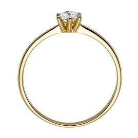 trendor 532473 Ladies Ring Gold with Diamond