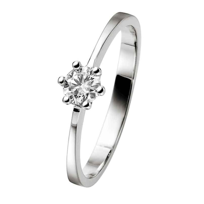 trendor 532462 White Gold Brilliant Ring 0,25 Ct