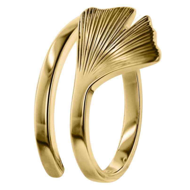 trendor 75038 Gingko Damen-Ring Gold 333