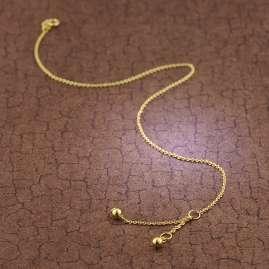 trendor 51330 Anklet With Balls Gold 333 / 8K