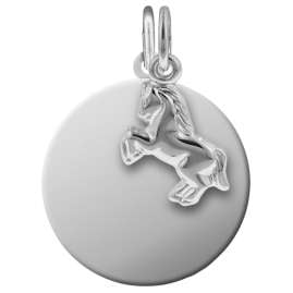 trendor 87592 Silver Kid's Engraving Set Horse