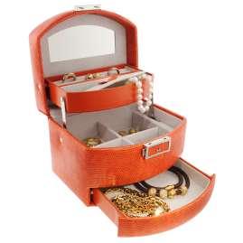 trendor 8050-60 Jewellery Case Orange
