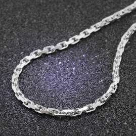 trendor 08632-60 Necklace for Men 925 Silver Anchor Chain 4,5 mm
