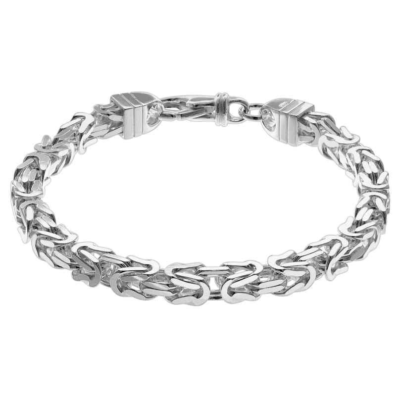 trendor 08646 Königskette Armband für Männer 925 Silber 6 mm breit 4260497086468