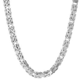trendor 75144 Byzantine Chain Silver 925 Necklace Thickness 3.2 mm