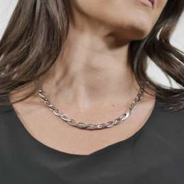 trendor 75572 Ladies' Necklace Silver 925