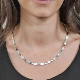 trendor 75574 Necklace for Ladies Silver 925